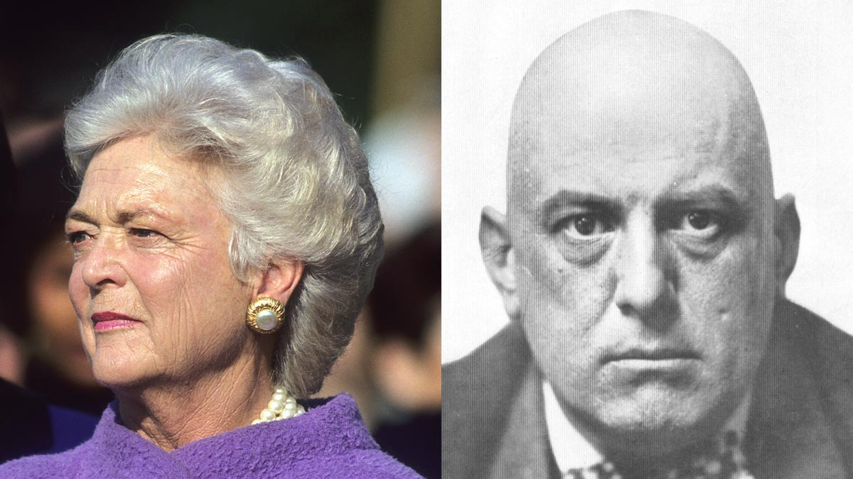Was Barbara Bush Really Aleister Crowley's Daughter?